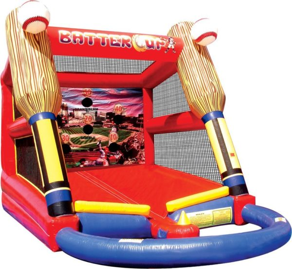 Photo of an inflatable Baseball game