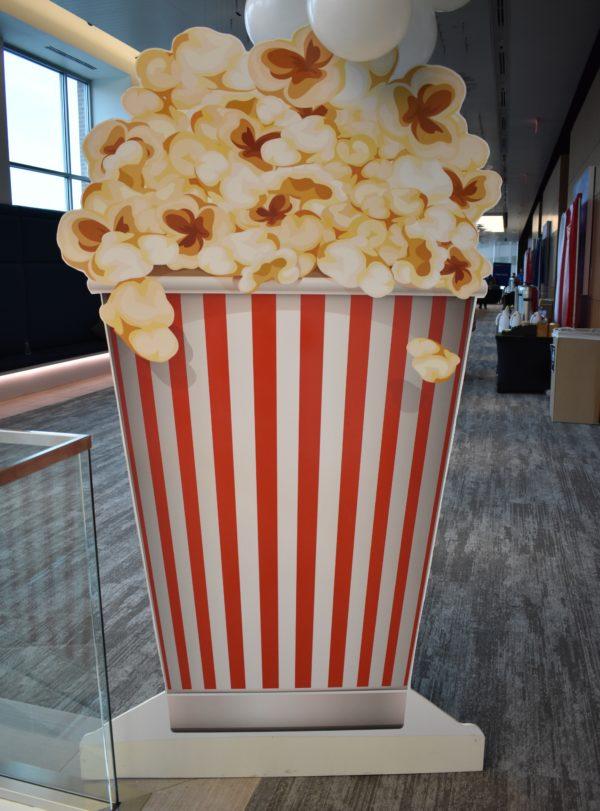 Giant Popcorn Box Prop