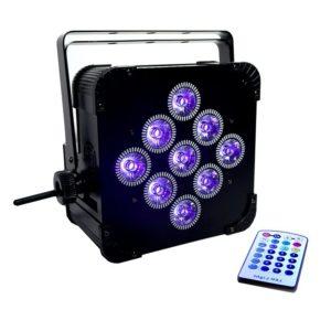 Wireless LED Light Fixture for Event Lighting