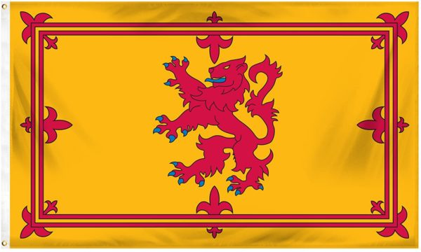 Royal Rampant Lion Flag of Scotland